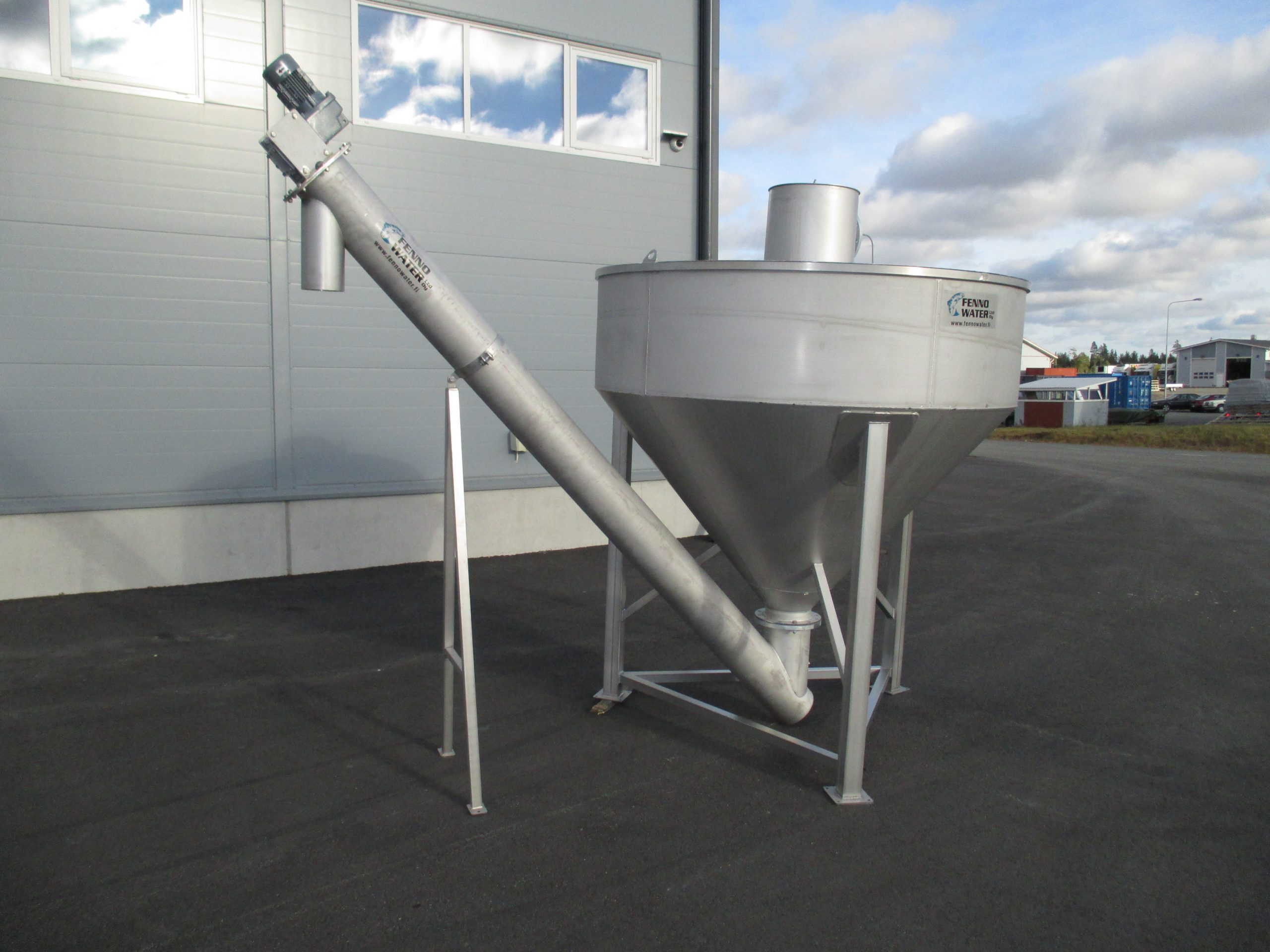 Product image: Sand separation units for round basins