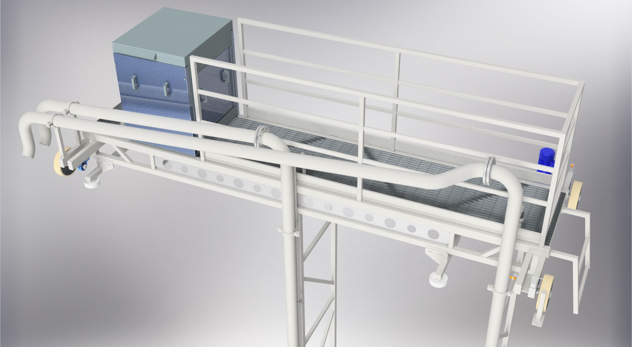 Product image: Pump wagon scrapers for sand separation