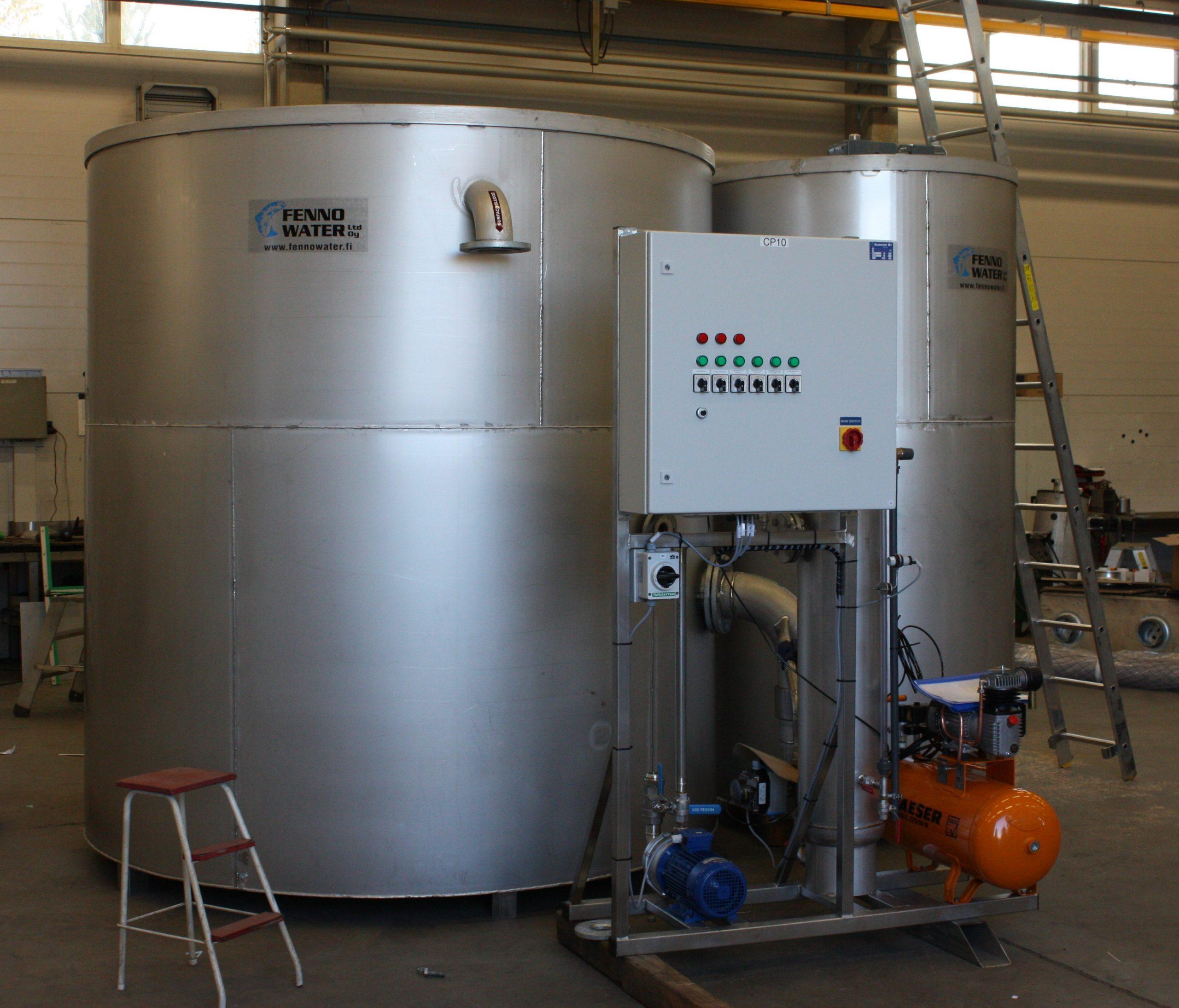 Product image: Round flotation units