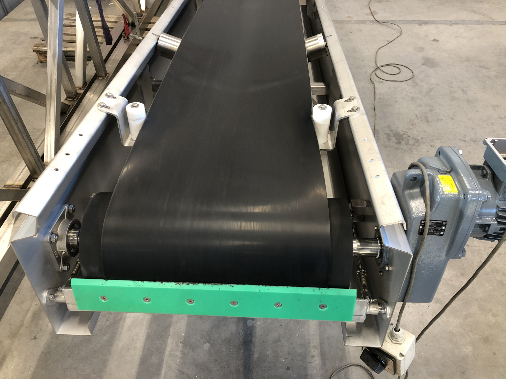 Product image: Belt conveyors for screenings